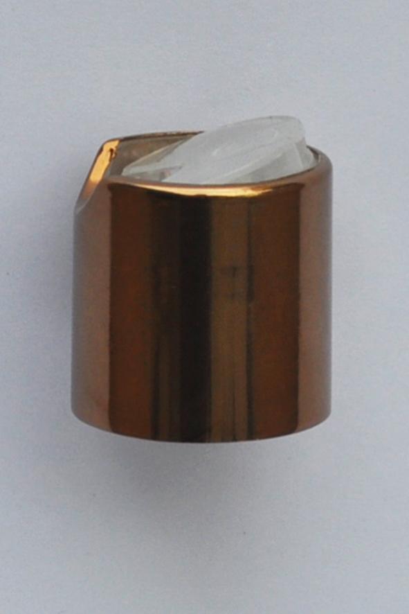 SNDD-2529-Metallic Copper Disc Top Dispensing Cap 24/410 Closure