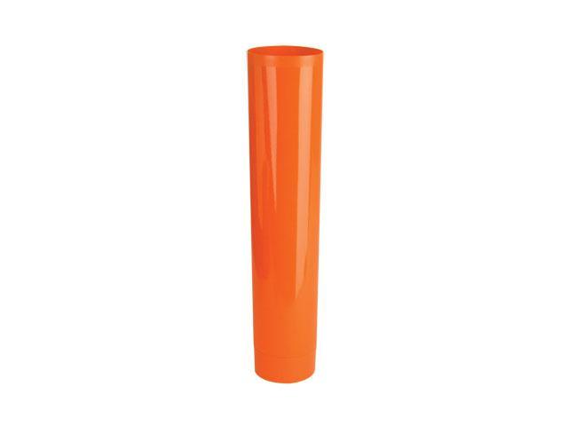 "SNET-24080-PLASTIC TUBE, LDPE, COLLAPSIBLE, 1 7/8"" DIA x 8 7/16"" L, .336"" ORIFICE, Size: 9 1/2 OZ, Finish: 22/400, Color: ORANGE"