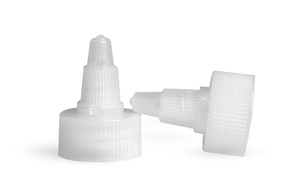 SNDD-2531-01-Natural Plastic Twist Top Cap 24/410