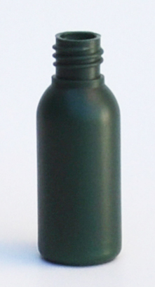 SNEP-30GHDPEB1815-30ml Green HDPE Tall Boston Bottle with 18/415 Neck