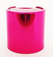 SNDD-32832-Metallic Hot Pink Disc Top Dispensing Cap 24/410 Closure