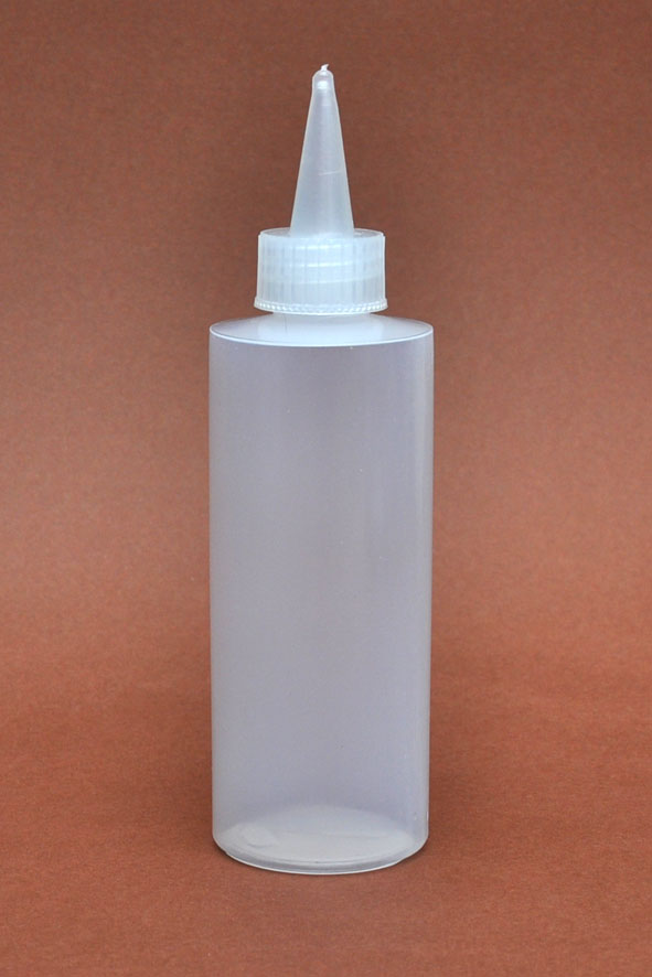 SNSB100NSC-100ml Natural Squeezer Bottle with Natural Dispensing Sprout and Inner Cap